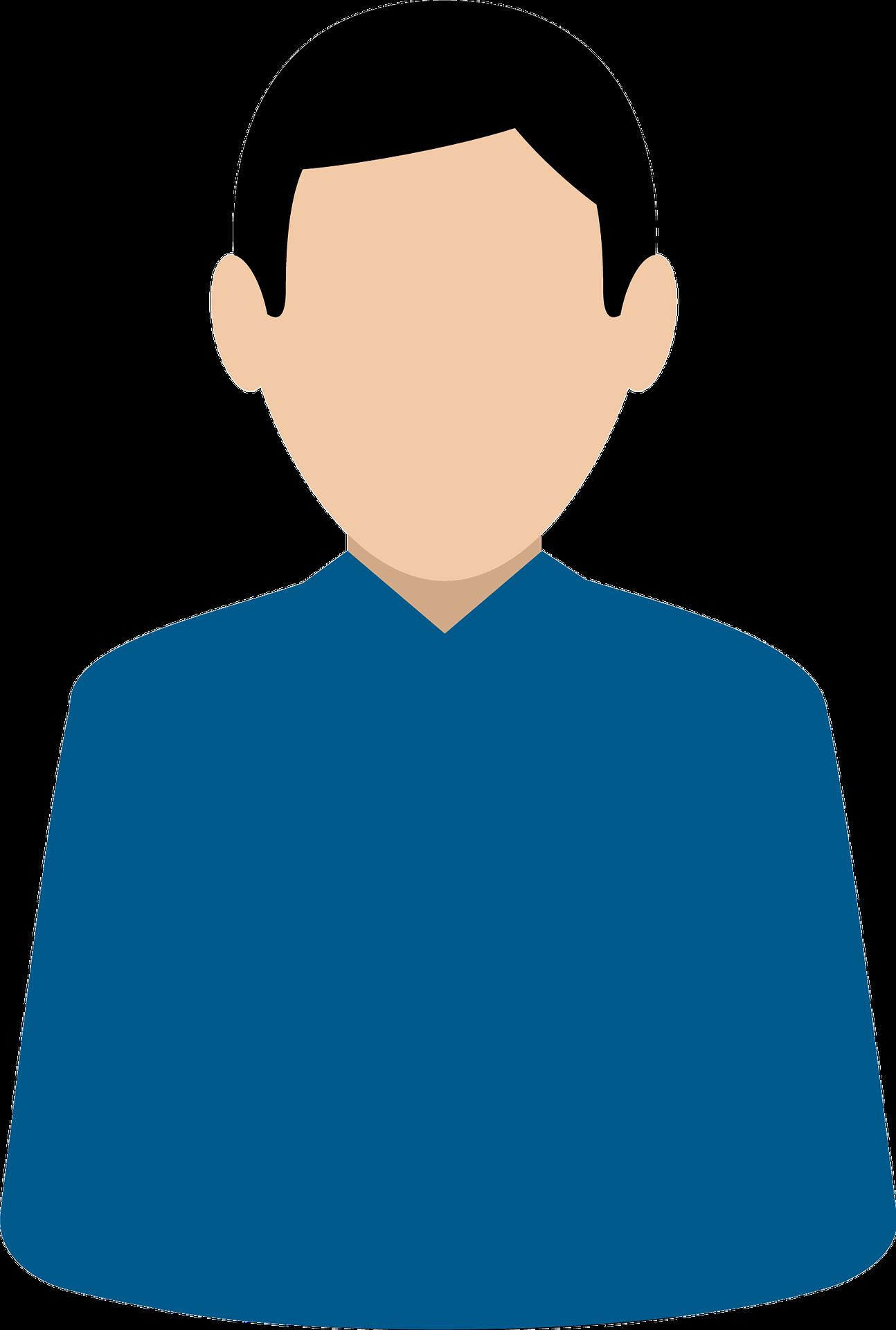 Emotionelle kundetyper blå