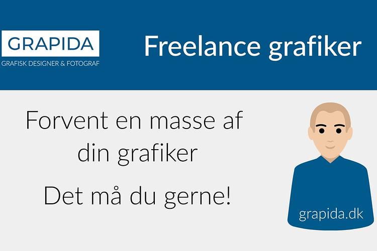 Freelance grafiker | Du må godt forvente dette af din grafiker